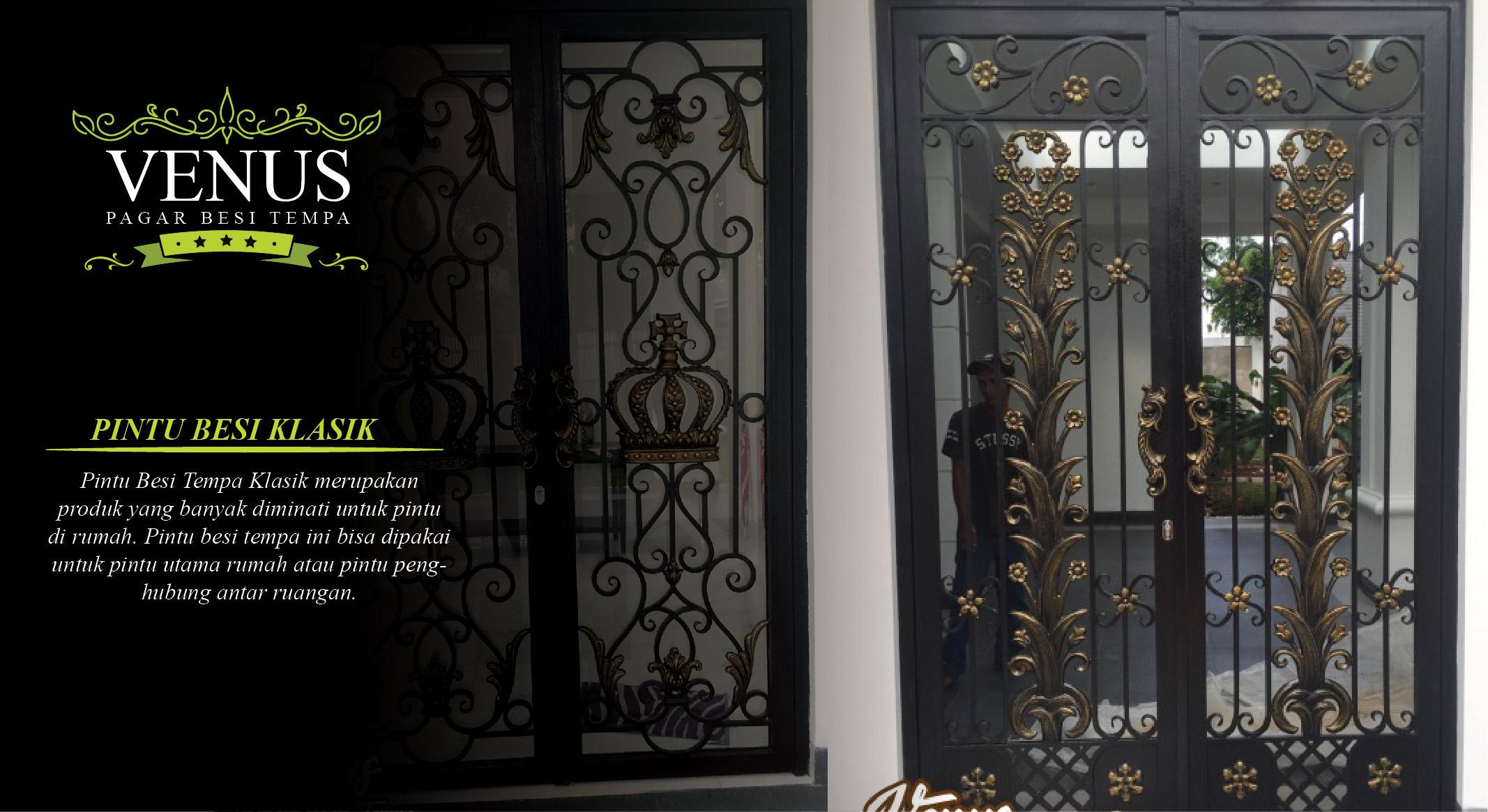 Pintu Besi Tempa Klasik Pintu Besi Klasik Mewah Modern Jakarta