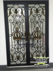Pintu Besi Tempa Klasik (6)