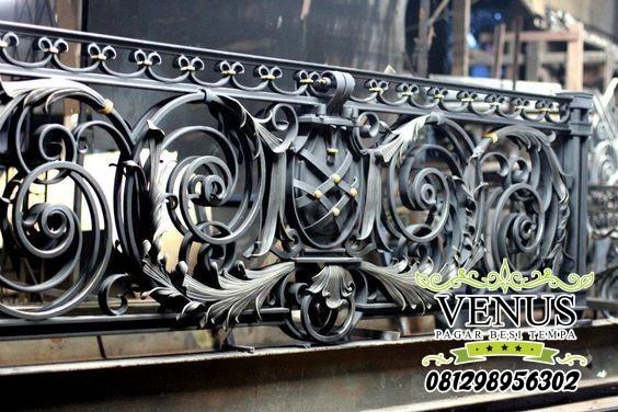 Railing Balkon Klasik 3D