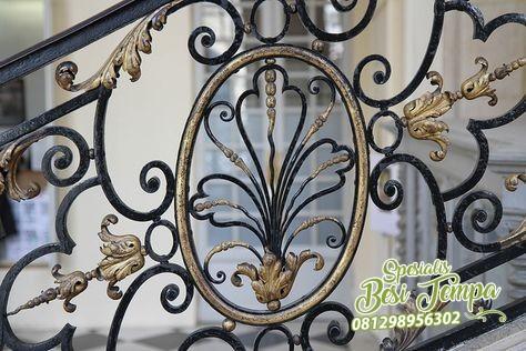 pagar balkon klasik untuk rumah klasik modern | pagar besi