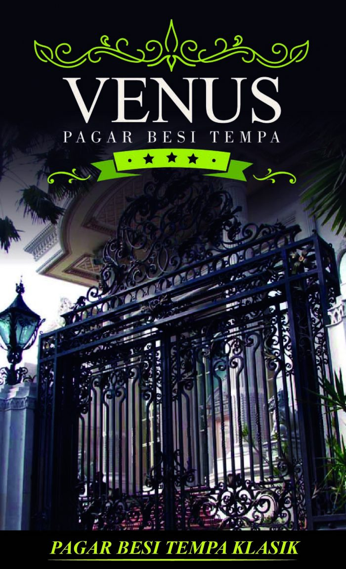 Pagar Besi Tempa Klasik Minimalis Mewah Modern Jakarta
